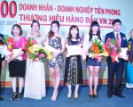 Tôn vinh Top 100 doanh nhân, doanh nghiệp Tiên Phong - Thương hiệu hàng đầu VN 2013